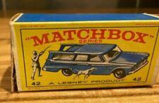 Matchbox Series Lesney 42 STUDEBAKER STATION WAGON in Original Box