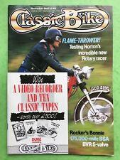 KLASSISCHES FAHRRAD - November 1987 - 588cc NORTON ROTARY - 250cc Ducati Desmo