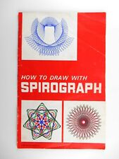 Vintage 1967 Kenner's Spirograph Drawing Manual: Instructions, Designs