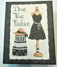 Tri Coastal Note Cards Set 16 Cards Boxed Envelopes 2 Designs Down Town Fashion