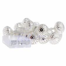 Moroccan 20 LED String Fairy Wedding Lights Lamp Xmas Party Garden Balls Decor