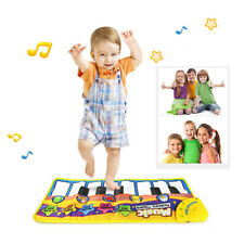 Musical Blanket Piano Keyboard Touch Play Learn Singing Carpet Mat Kids Toy Gift