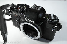 Old vintage reflex Ricoh KR-10 film analog camera kamera camara SLR *TESTED ok*