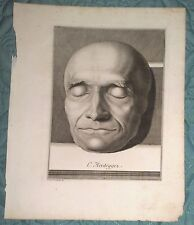 C. Heidegger  Incisione XVIII Secolo