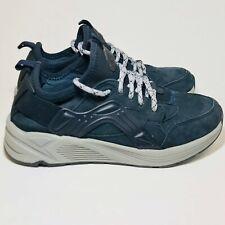 Earth Womens Size 7 Saunter Walking Hiking Sneakers Navy Blue