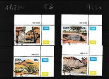 Namibië - Southwest 621-624 (compleet.Kwestie.) gestempeld Eckrandstücke mit Aus