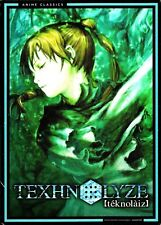 Texhnolyze: Complete Series. Cyberpunk Anime Great! 4 DVD Set. New In Shrink!