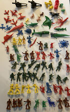 "Vintage lot 9 MPC Plastic Civil War figures - 2"" tall"