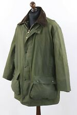 """BARBOUR Vintage A400 NORTHUMBRIA Thornproof Heavy 8oz Waxed Cotton jacket C 44 """""""
