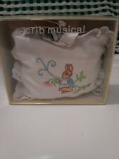 Beatrix Potter Crib Mobile, Peter Rabbit By Eden, Nwt, ribbon for hanging.