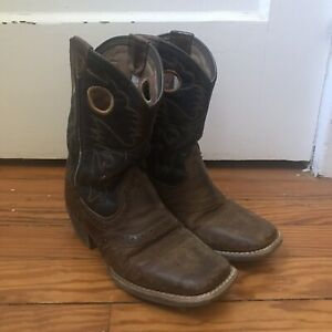Ariat Childs Western Style Square Toed Boots Size 13