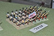 25mm Guerra de los siete años austríaco grenzers 32 Figuras De Metal Pintado (7428)