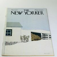 The New Yorker: January 10 1977 - Full Magazine/Theme Cover Gretchen Dow Simpson