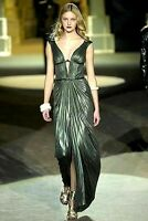 NEW Roberto Cavalli Cleopatra Runway Long Maxi Cutout Gown Dress US 2 4 / IT 40