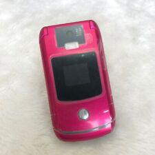Original Motorola Razr V3x 2Mp 2G 3G Mobile Phone Unlocked Refurbished Cellphone