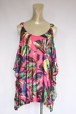 Woman's Pink/Multi-Coloured top - Crossroads - Size 14
