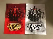 2x JUSTICE LEAGUE 1; MONUMENT JOCK FORBIDDEN PLANET JETPACK COMICS EXCL VARIANT