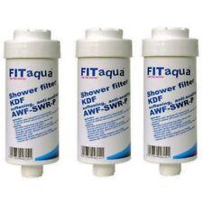 3 x Duschfilter Showerfilter für Dusche gegen Kalk, Fitaqua Duschen Kalkfilter