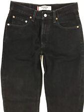 Vtg Levi's 550 Mom Jeans 8 Reg Relaxed Fit Black High Waist 90's 29 x 32