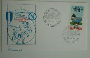 FDC CAPITOLIUM NAPOLI CAMPIONE D'ITALIA 1986-87