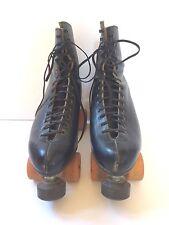 Riedell Mens vintage Roller skates size 11 Douglas Snyder CUSTOM SUPER DELUXE