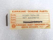 Kawasaki NOS NEW  312301-3324 Woodruff Key MB1 50 1970