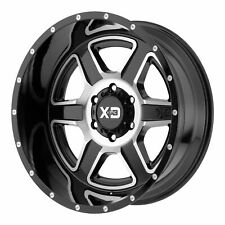 XD Series 20x9 XD832 Fusion Wheel Gloss Black Machined 6x135 -12mm Offset 4.53""