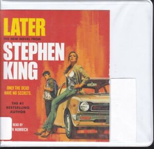 LATER by STEPHEN KING ~ UNABRIDGED CD's AUDIOBOOK