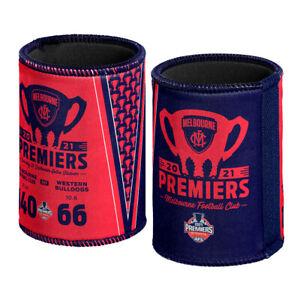 AFL Melbourne Demons Premiers 2021 Scores Stubby Holder Can Cooler
