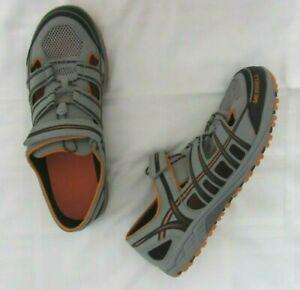 MERRELL Mix Master Maze Sport Mens Size 12 Wild Dove/Melon Fisherman Shoes