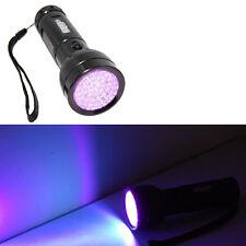 390 nM 51 UV LED Ultraviolet Saliva / Sperm Identification Flashlight Blacklight
