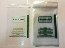 300 Pcs 6x9 (PS) Self-Seal Poly Bags with Suffocation Warning **ON SALE**