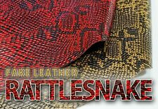 "Vinyl Upholstery Embossed Texture Fabric Rattlesnake 54"" Wide SOLD By The Yard"