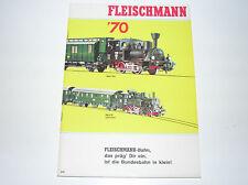 Fleischmann Katalog 1970 mit Auto-Rallye und Piccolo top Zustand