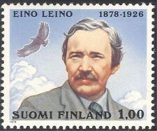 Finlande 1978 eino Leino/poète/écrivain/poésie/aigle/oiseau/raptor/nature 1v (n23819)