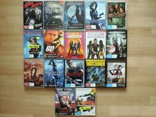ACTION DVD movies including Gone in 60 Seconds, Sin City and more BULK LOT (15)