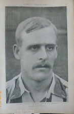 Alf Common Sheffield England Old Football Photo Albert Buick Portsmouth FC 1904