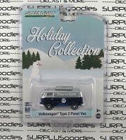 Greenlight 1:64 2016 Christmas Holiday Collection VW VOLKSWAGEN TYPE 2 PANEL VAN