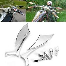 Chrome Blade Rearview Mirrors For Harley Street Electra Glide Road King Touring