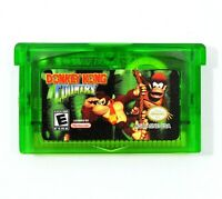 Donkey Kong Country GBA Game Boy Advance SNES Color Restoration custom cart