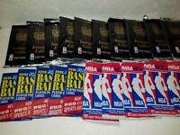 LOT: Twenty Packs (20) of Vintage, NEW & UNOPENED NBA Basketball CARDS  ?JORDAN?