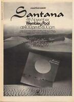 Santana Caravanserai Wembley Pool concert advert Time Out cutting 1972