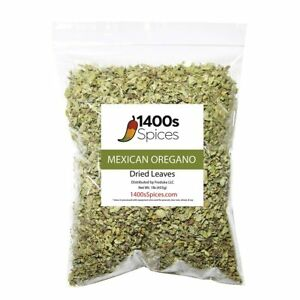 1lb Dried Mexican Oregano Food Service Size. Perfect for Taco Seasoning