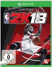 NBA 2K18 - Legend Edition (Microsoft Xbox One, 2017)