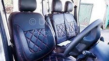 MERCEDES SPRINTER / VW CRAFTER VAN SEAT COVERS X150BK-RD
