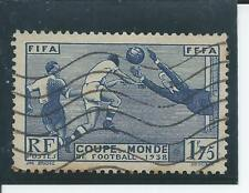 France - 1938 World Cup - Postally used