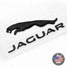 OEM Jaguar F-Type Black Liftgate Tailgate Hatch Emblem Badge Nameplate T2R27585
