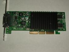 NVIDIA QUADRO NVS 64MB DUAL MONITOR AGP VIDEO CARD PLUS CABLE