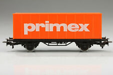 H0 Märklin Primex Container Load Car Dirt / Scratches without Original Box