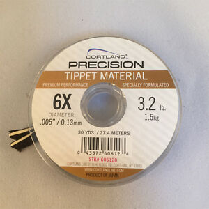 CORTLAND PRECISION TIPPET MATERIAL - FLY FISHING